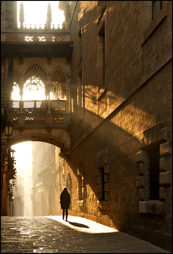 Morgens in Barcelona