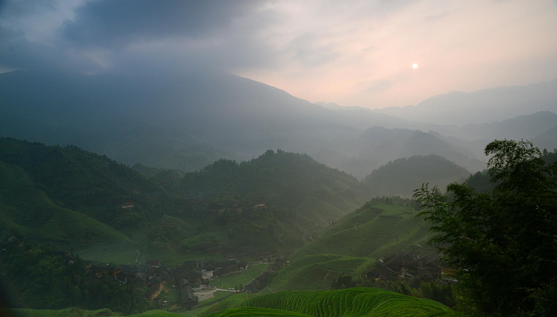 Morgens in den Reisterrassen