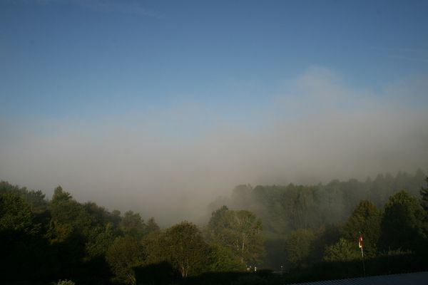 Morgens in der Vulkaneifel