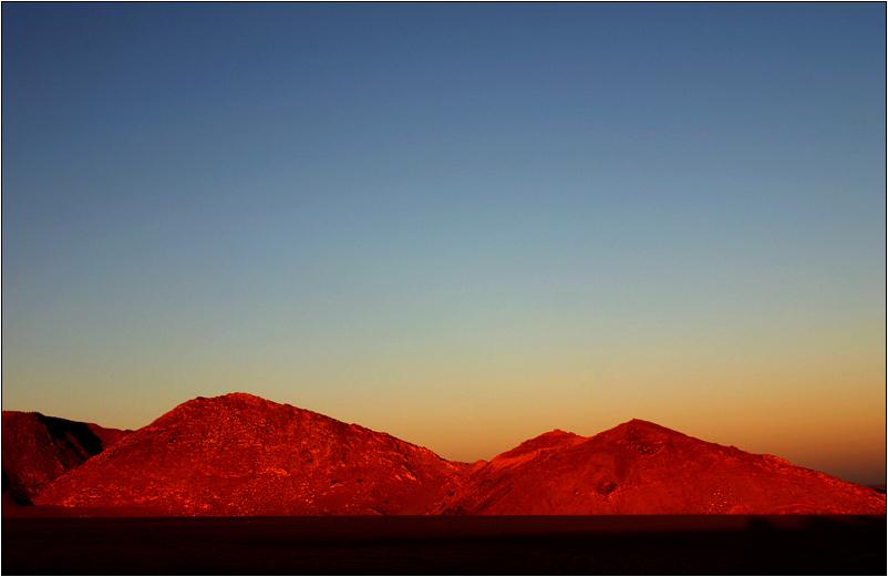 morgens in der wüste