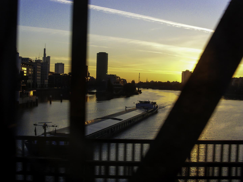 Morgens in Frankfurt