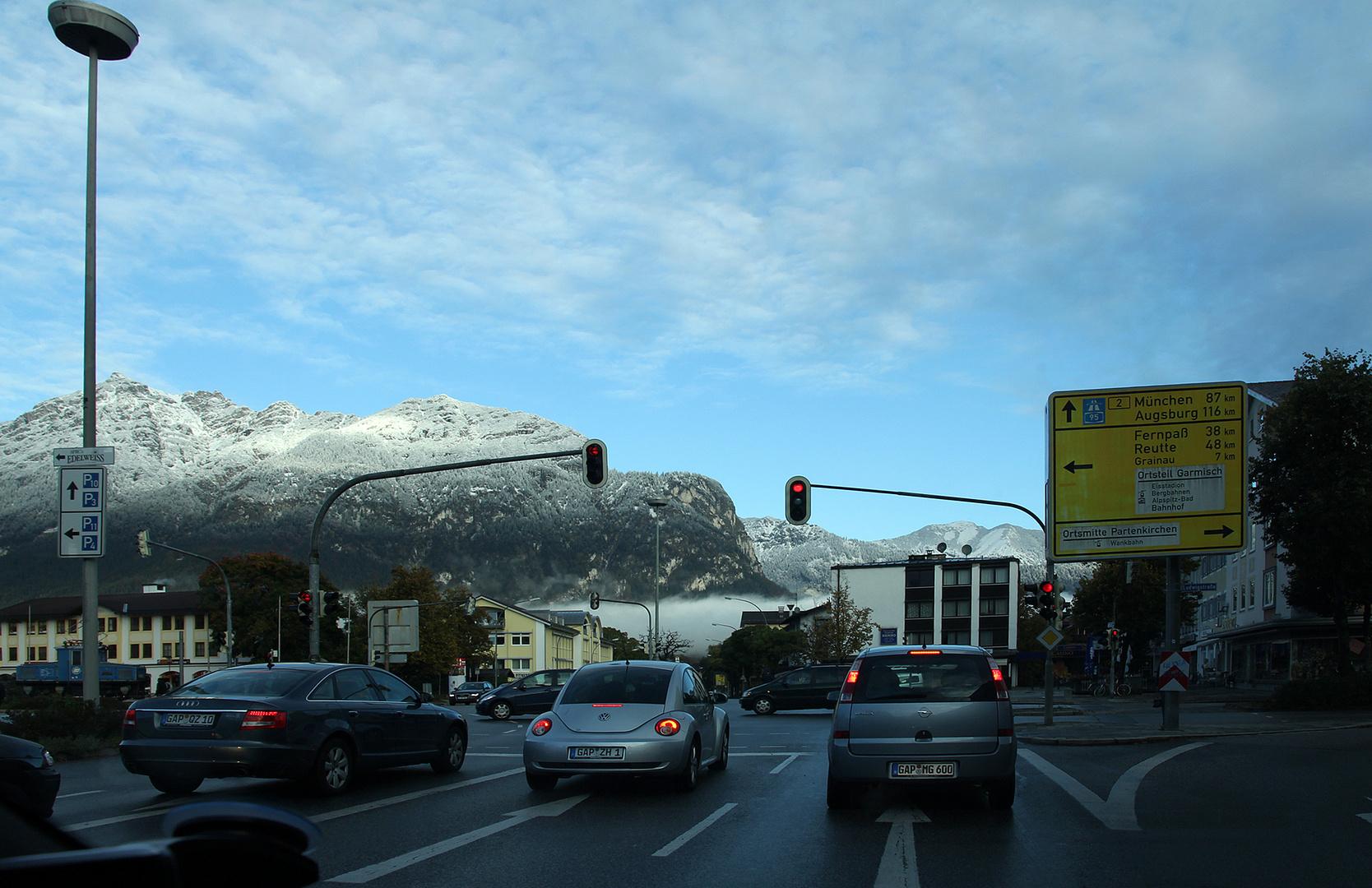Morgen's in Garmisch Partenkirchen