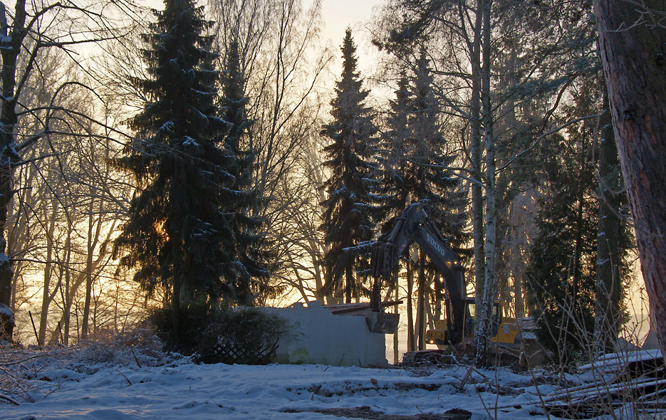 Morgens in Kladow, 08.01.09 – 03
