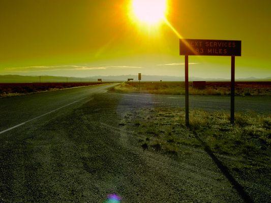 morgens in Nevada