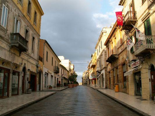 Morgens in Olbia