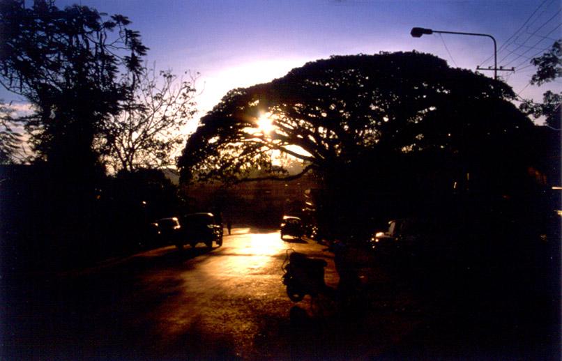 Morgens in Port Blair/Andamanen