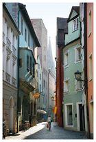 Morgens in Regensburg