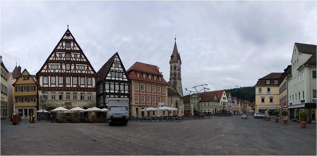 morgens in Schwäbisch Gmünd