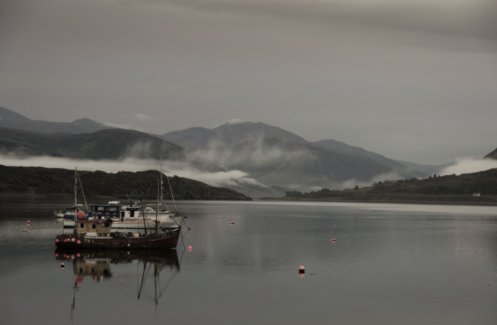 Morgens in Ullapool