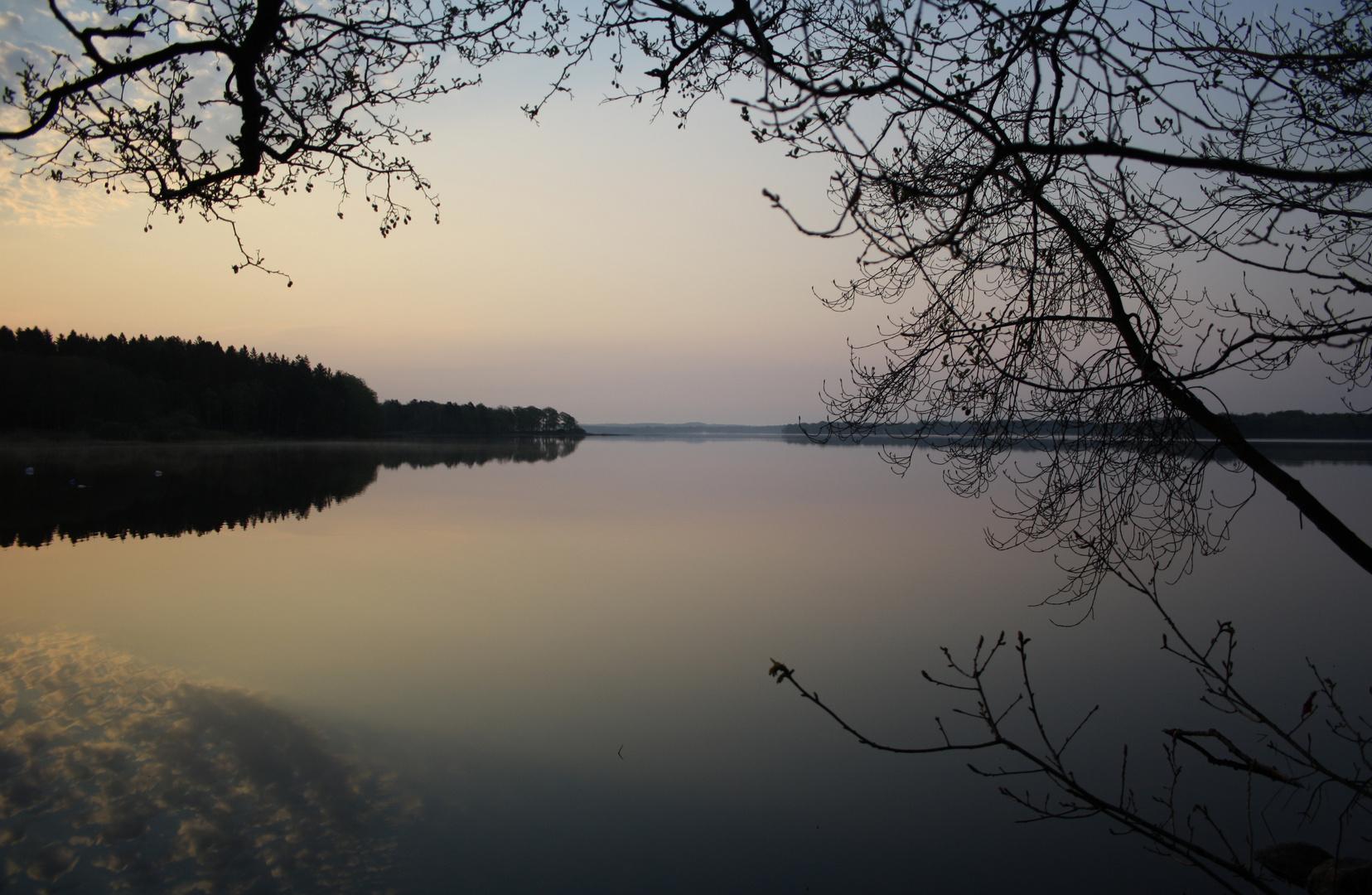 Morgens um 05:30 Uhr in Süd-Schweden