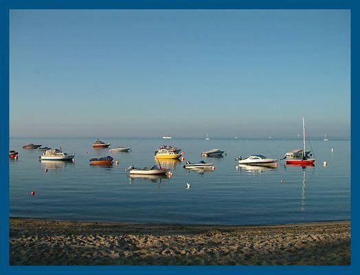 morgens um 6.00 an der Ostsee