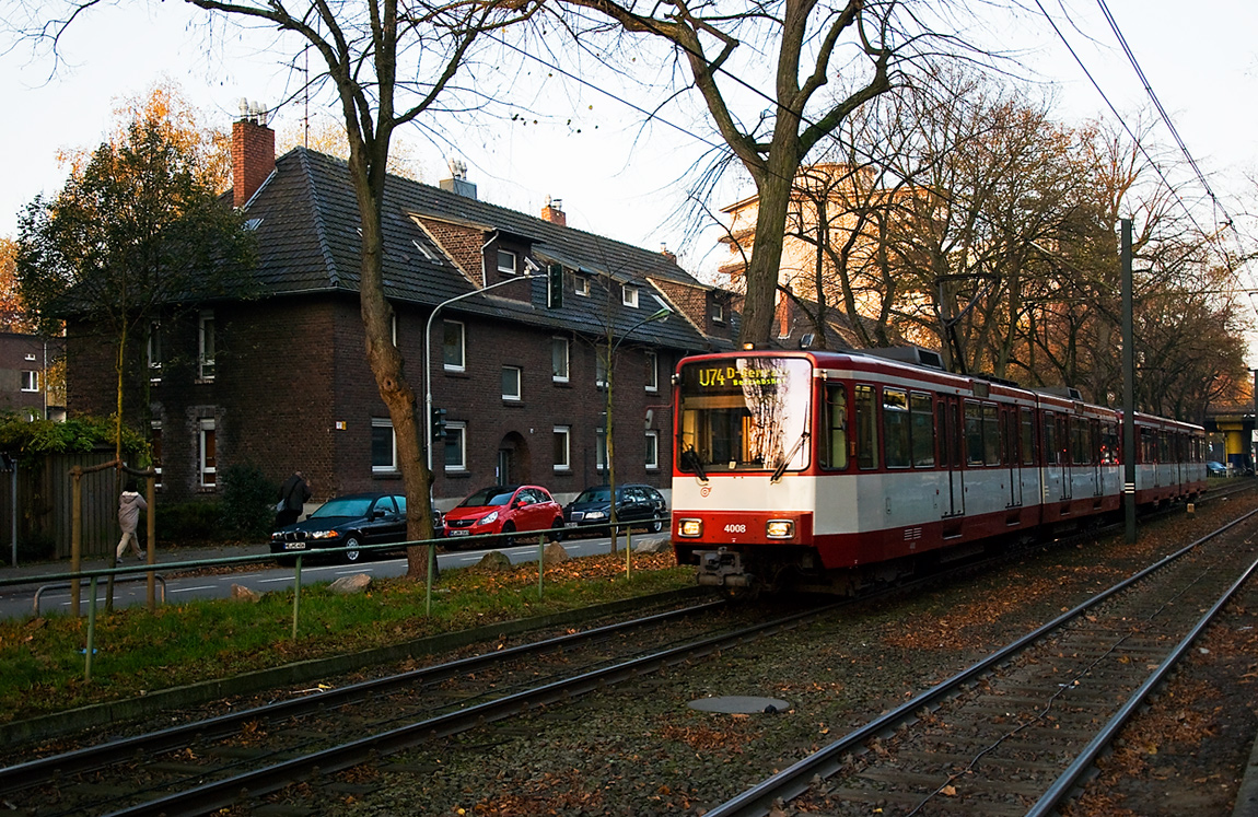 Morgens um 8 in Düsseldorf