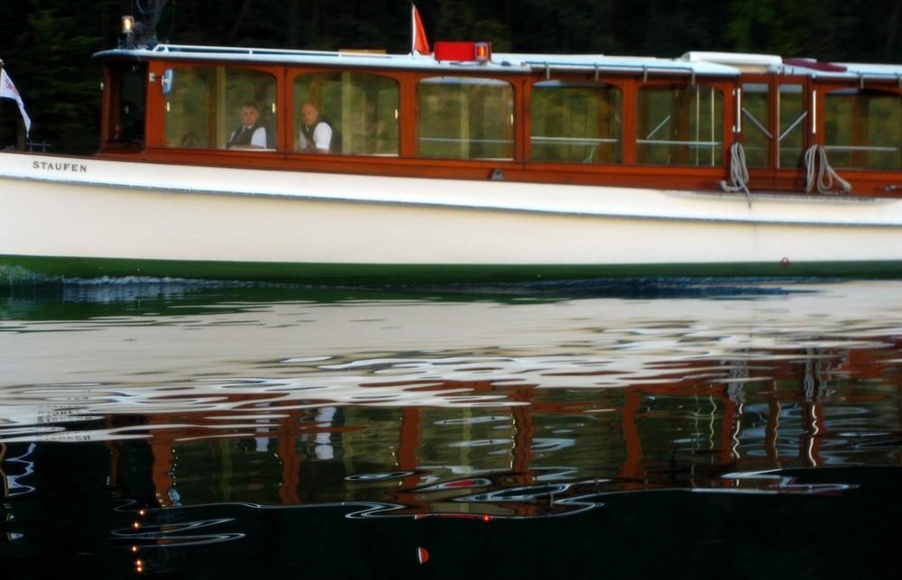 Morgens um halb 10 auf dem Berchtesgadener See