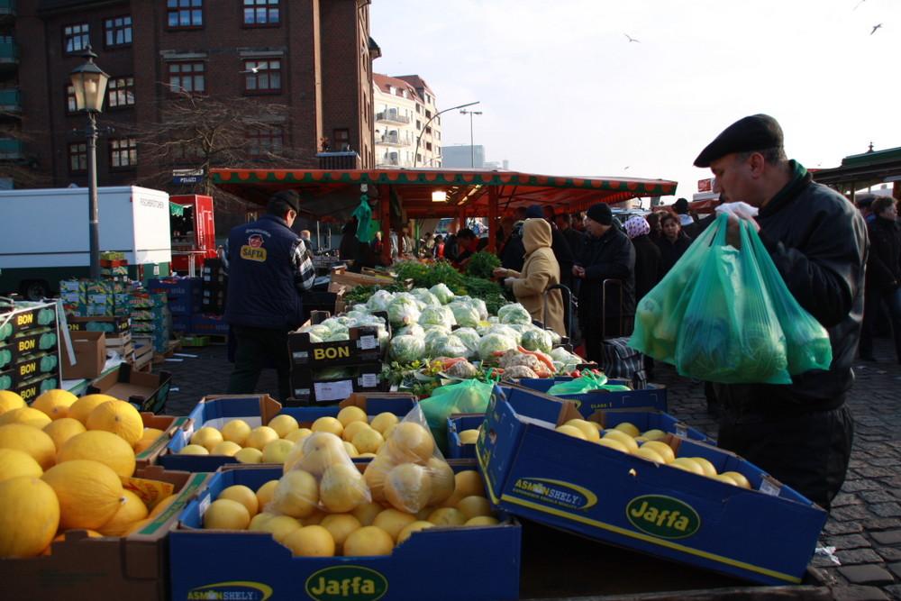 Morgens um halb zehn in Hamburg: Fischmarkt