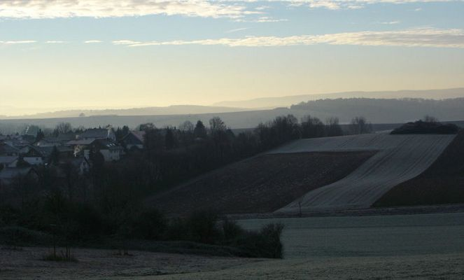Morgensonne ...