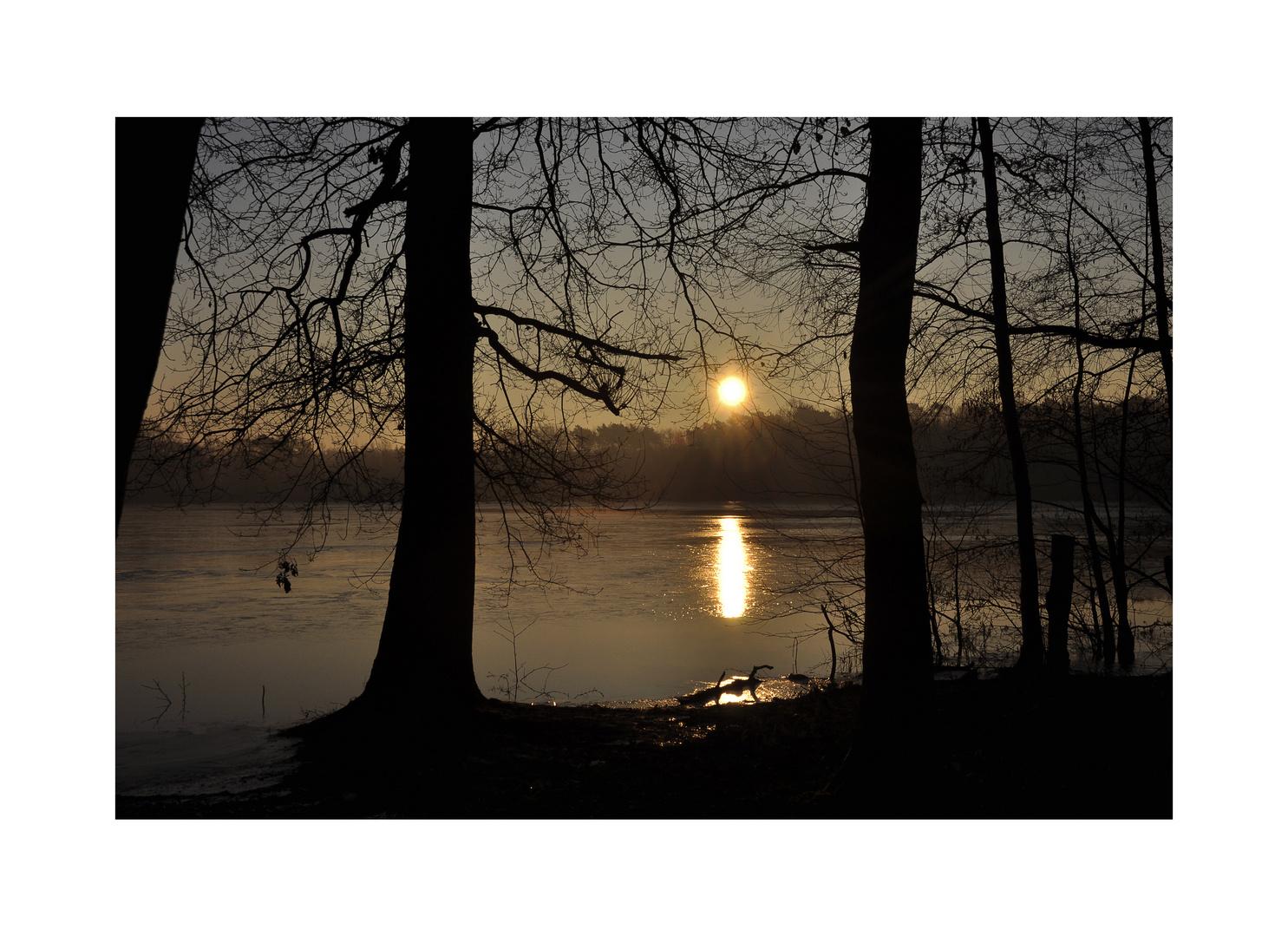 Morgensonne....