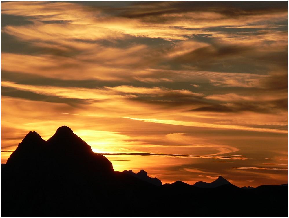 Morgensonne am Guffert 2194 m