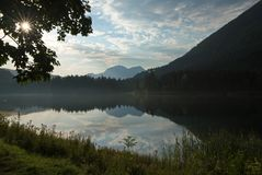Morgensonne am Hintersee
