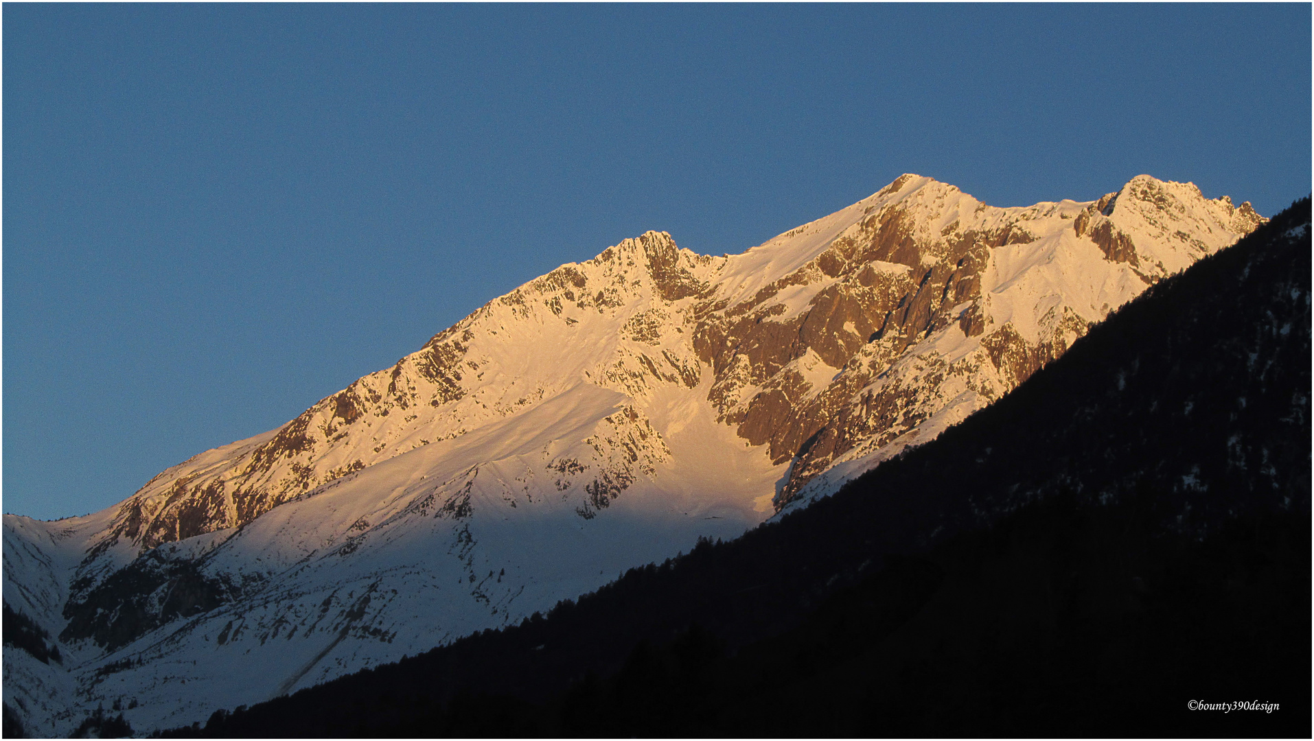 Morgensonne auf dem Dawinkopf