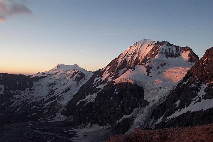 Morgensonne auf der Königsspitze