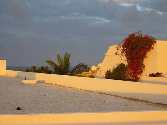 Morgensonne auf Fuerte