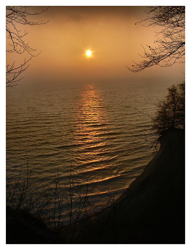 Morgensonne auf Rügen