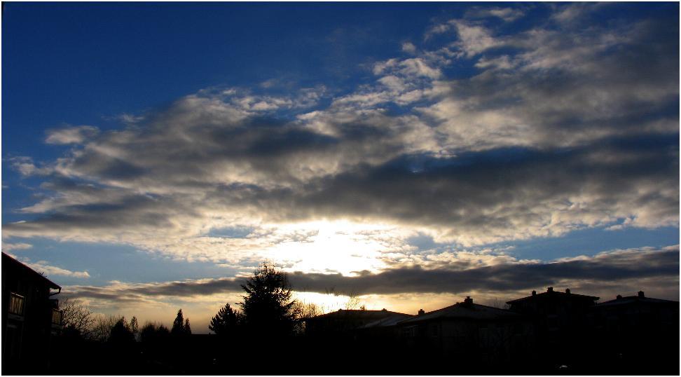 Morgensonne...