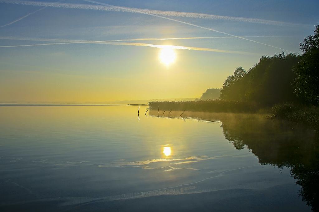 Morgensonne - Grimmnitzsee