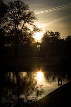 Morgensonne im Neustrelitzer Schloßpark