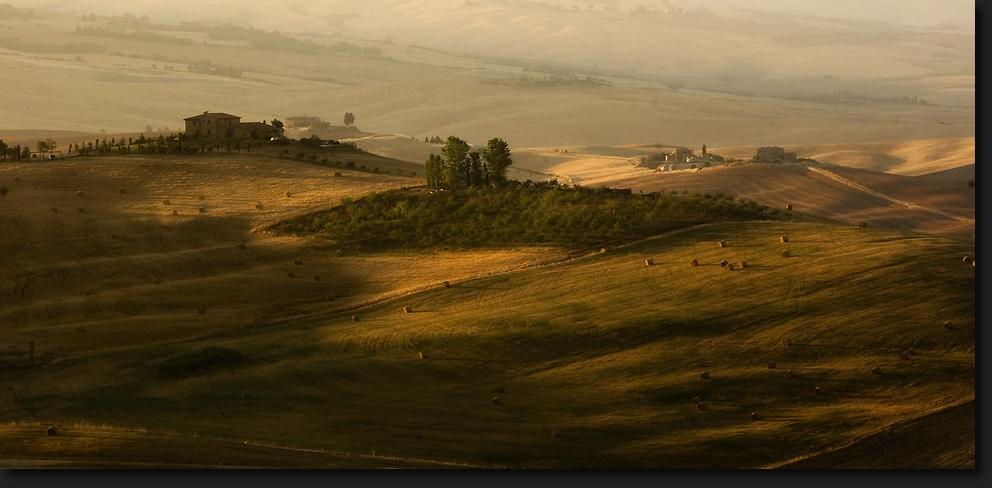 Morgensonne - Toskana
