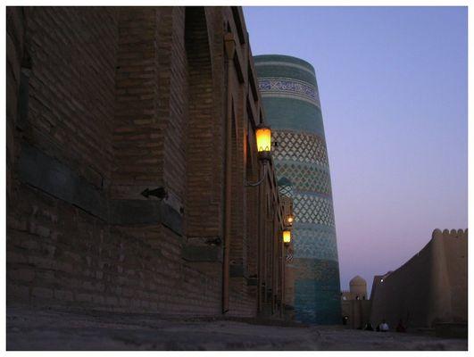 Morgenspaziergang durch Khiva
