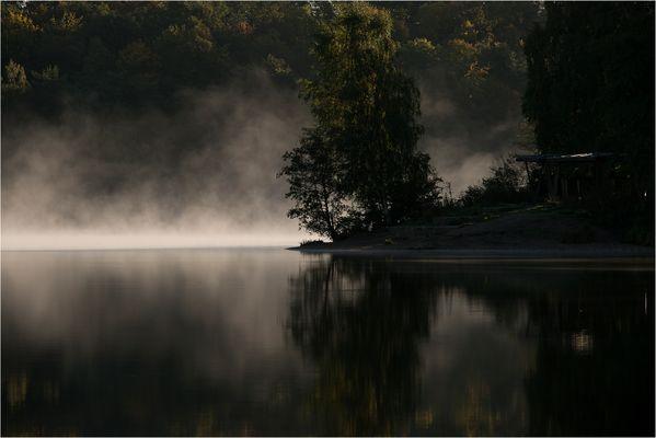Morgenstille am See....