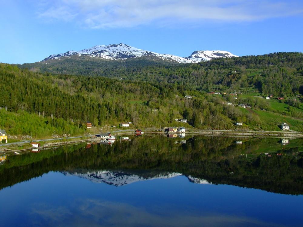 Morgenstimmung am Eidfjord