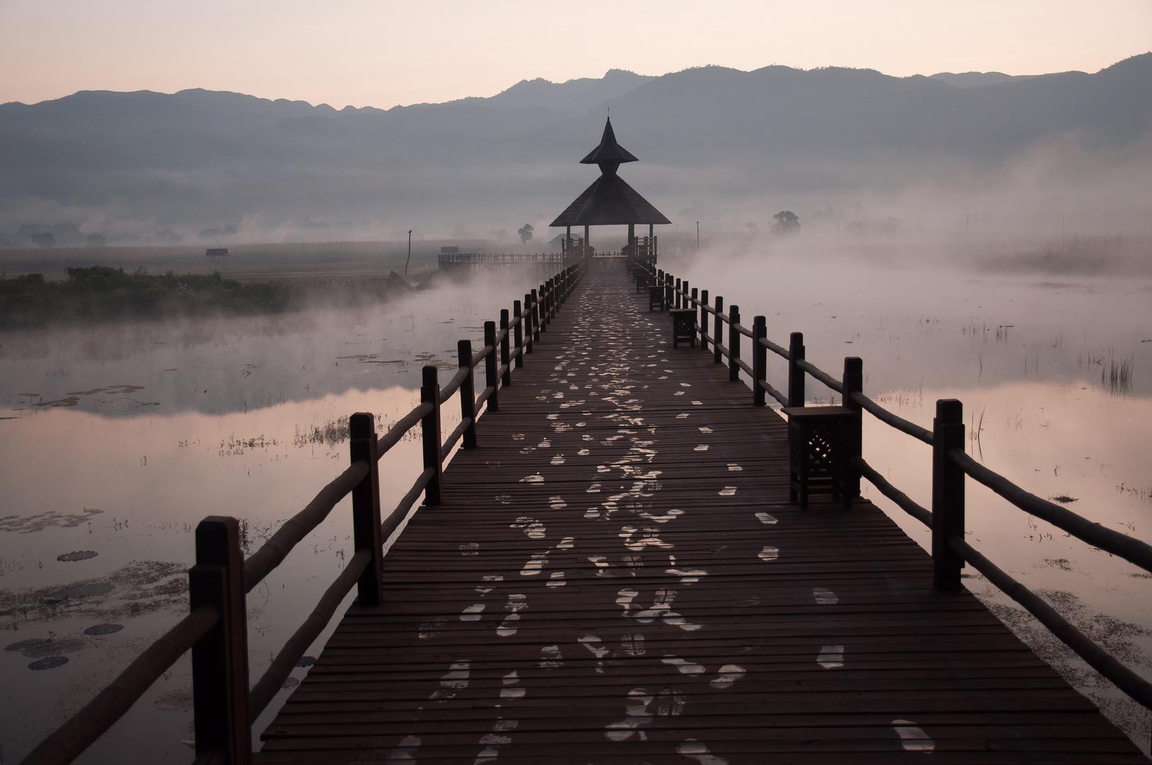 Morgenstimmung am Inlee See
