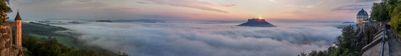 Morgenstimmung am Königstein