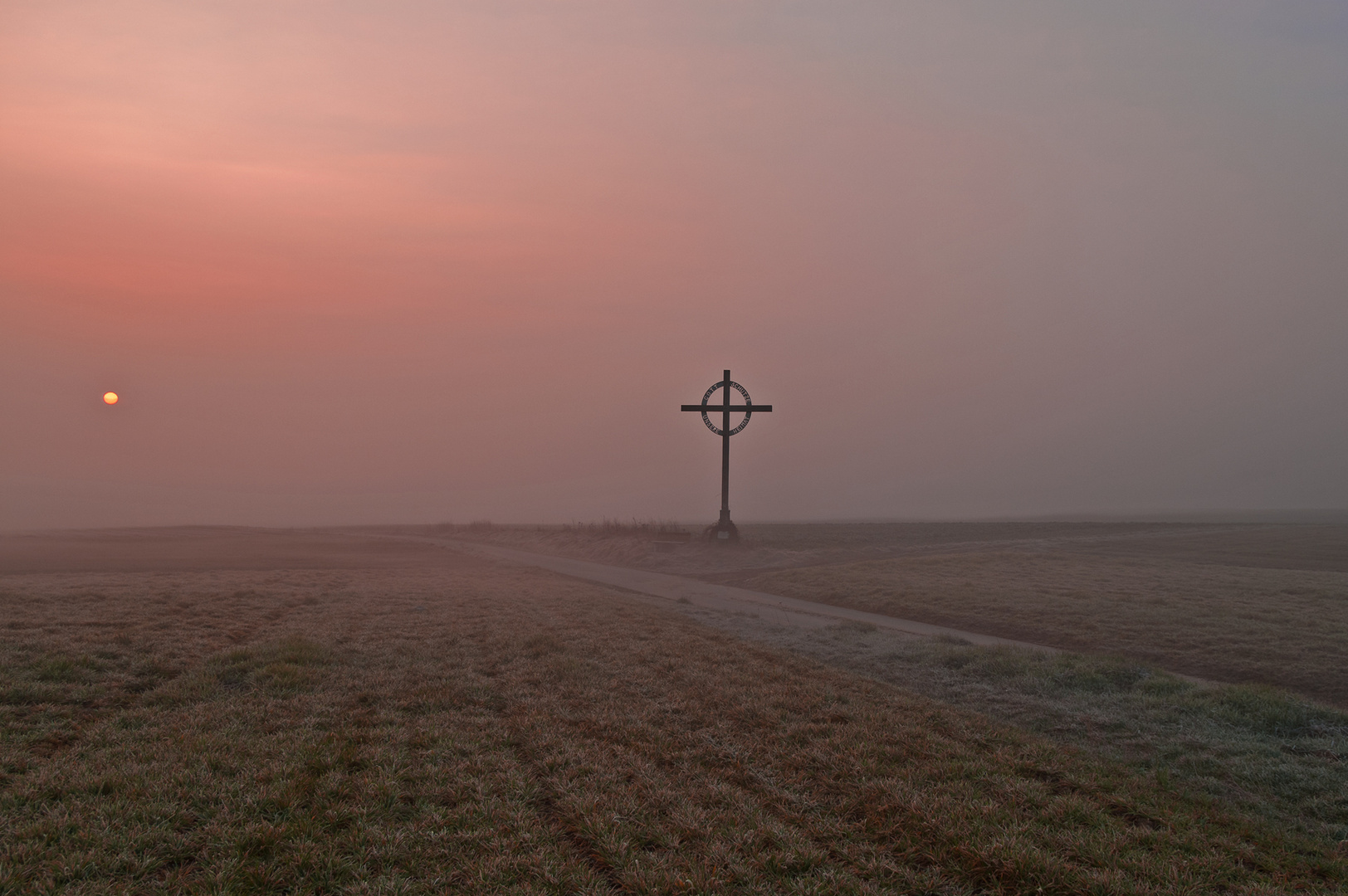 Morgenstimmung am Kreuz