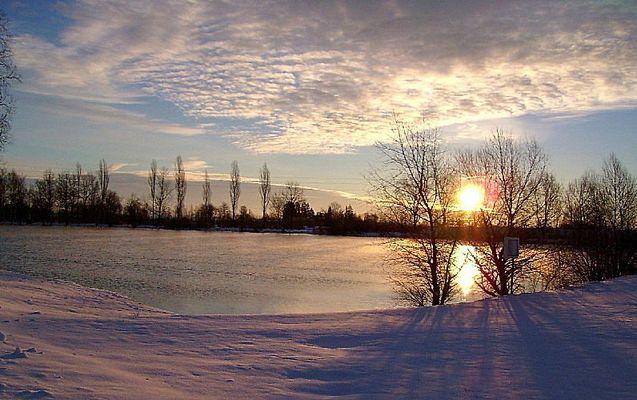 Morgenstimmung am Langerringer See