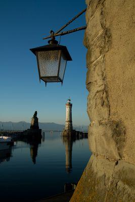 Morgenstimmung am Lindauer Leuchtturm