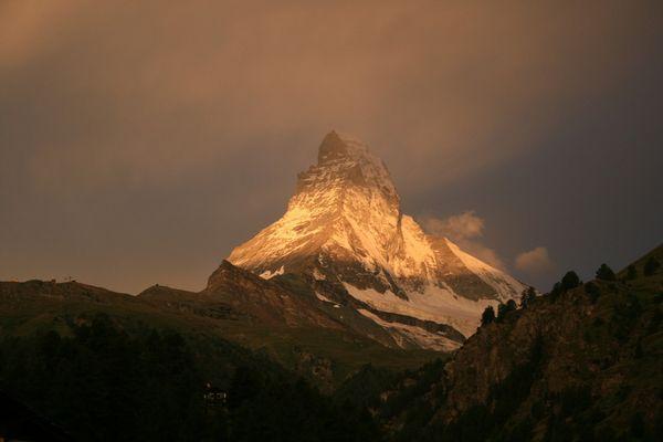 Morgenstimmung am Matterhorn