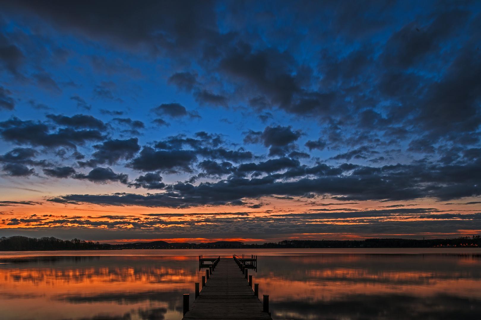 Morgenstimmung am Starnberger See
