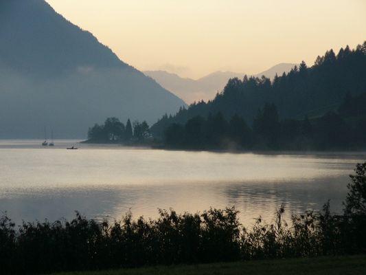 Morgenstimmung am Weissensee