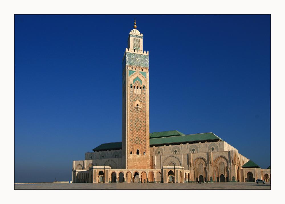 Morgenstimmung bei der 2. größten Moschee der Welt