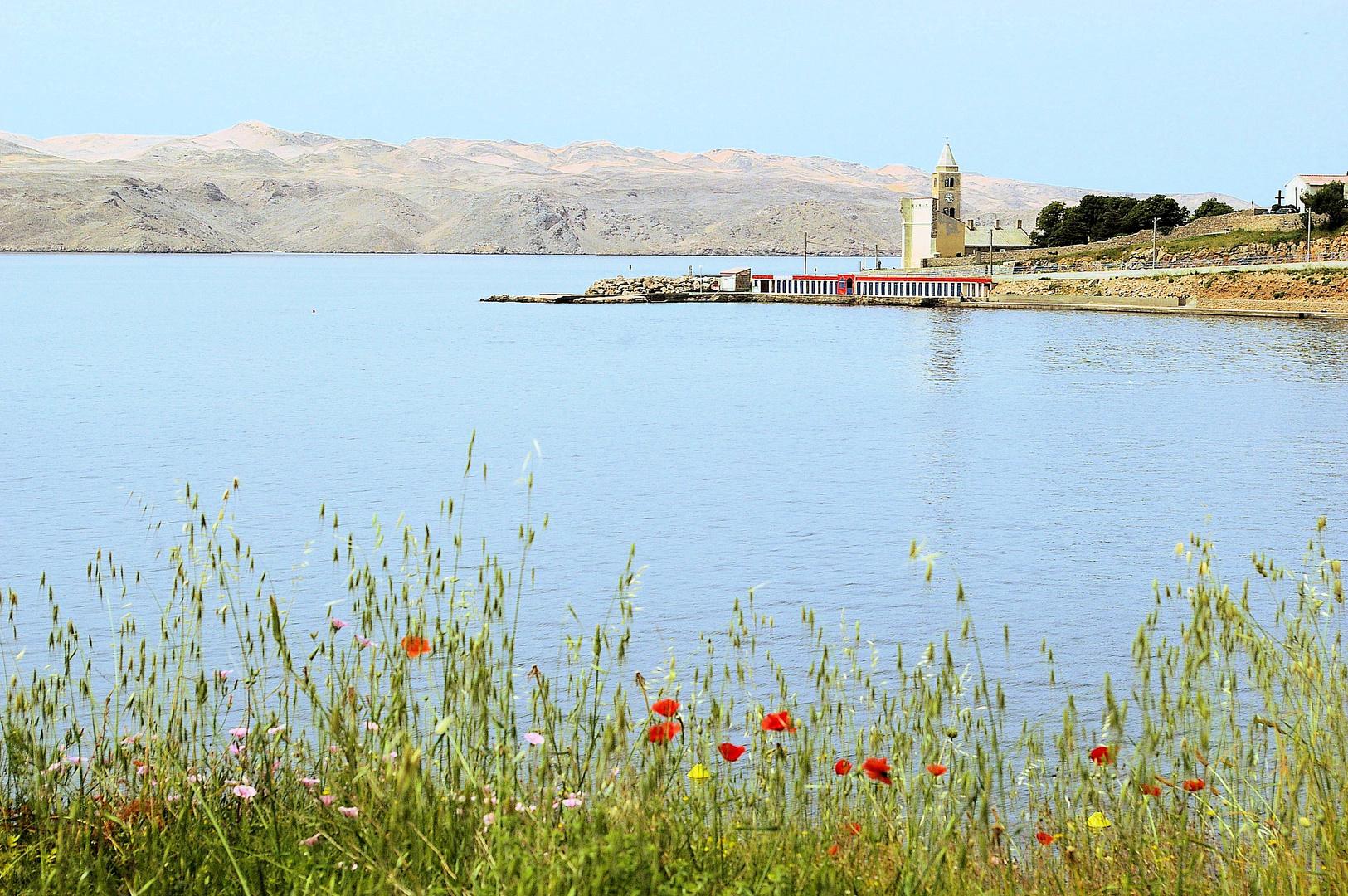 Morgenstimmung bei Karlobag am Velebitski Kanal
