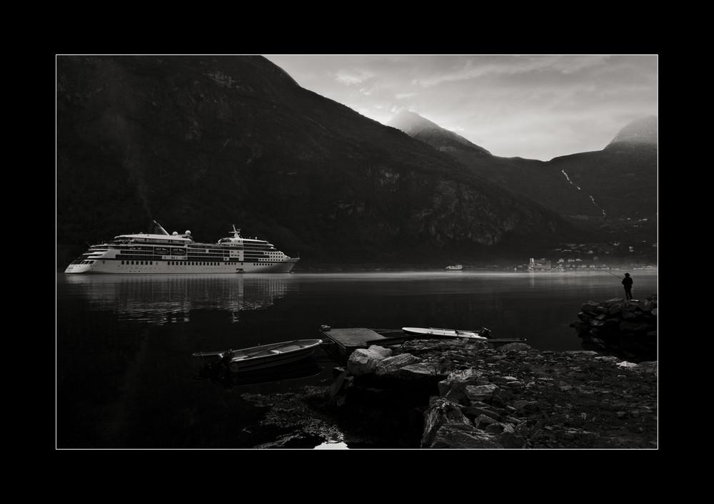 morgenstimmung geirangerfjord