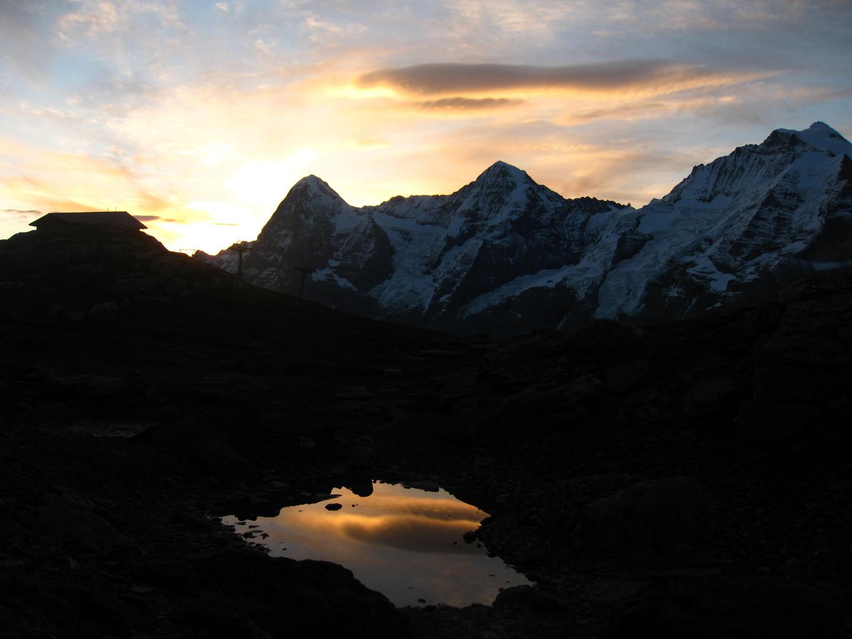 Morgenstimmung im Berner Oberland