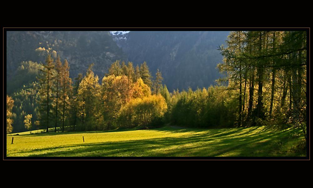Morgenstimmung im Ötztal