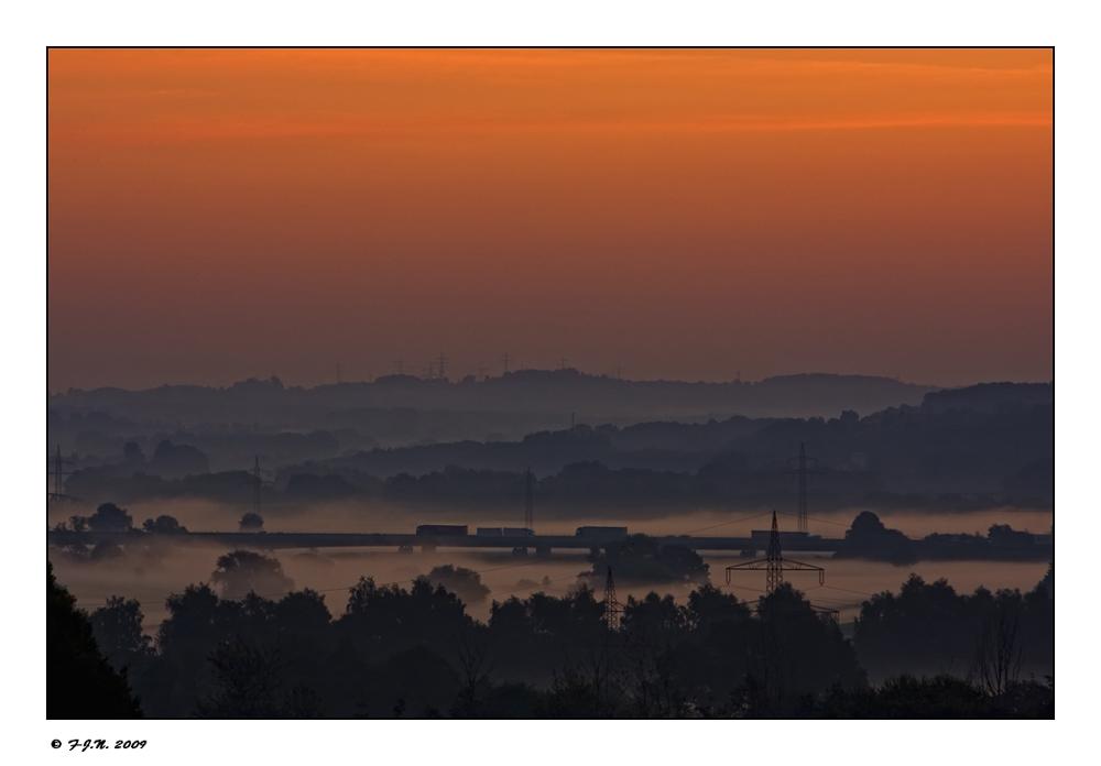 *Morgenstimmung im Ruhrtal*