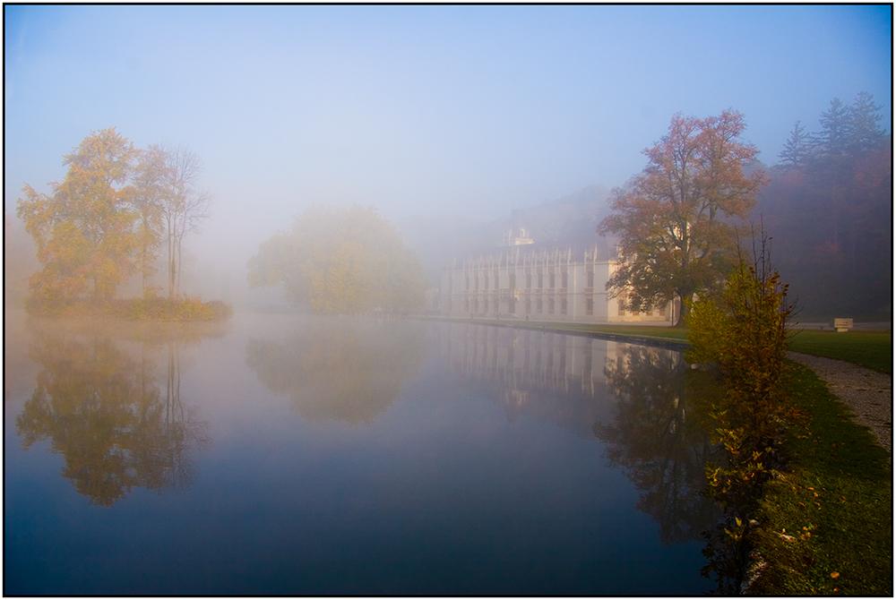 Morgenstimmung im Schloss Hernstein