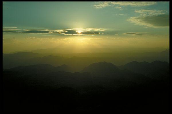 Morgenstimmung in den Sinai-Bergen