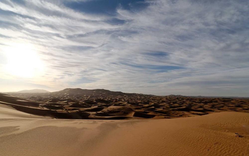 Morgenstimmung in der Sahara